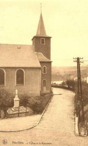 Église Hévillers